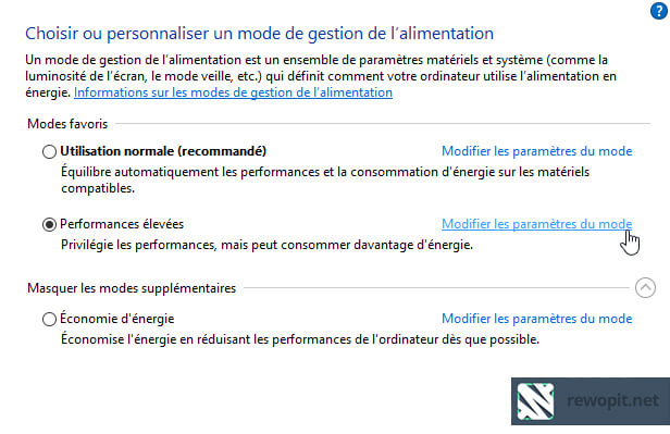 Quickie Mise en veille de Windows 10 - 1
