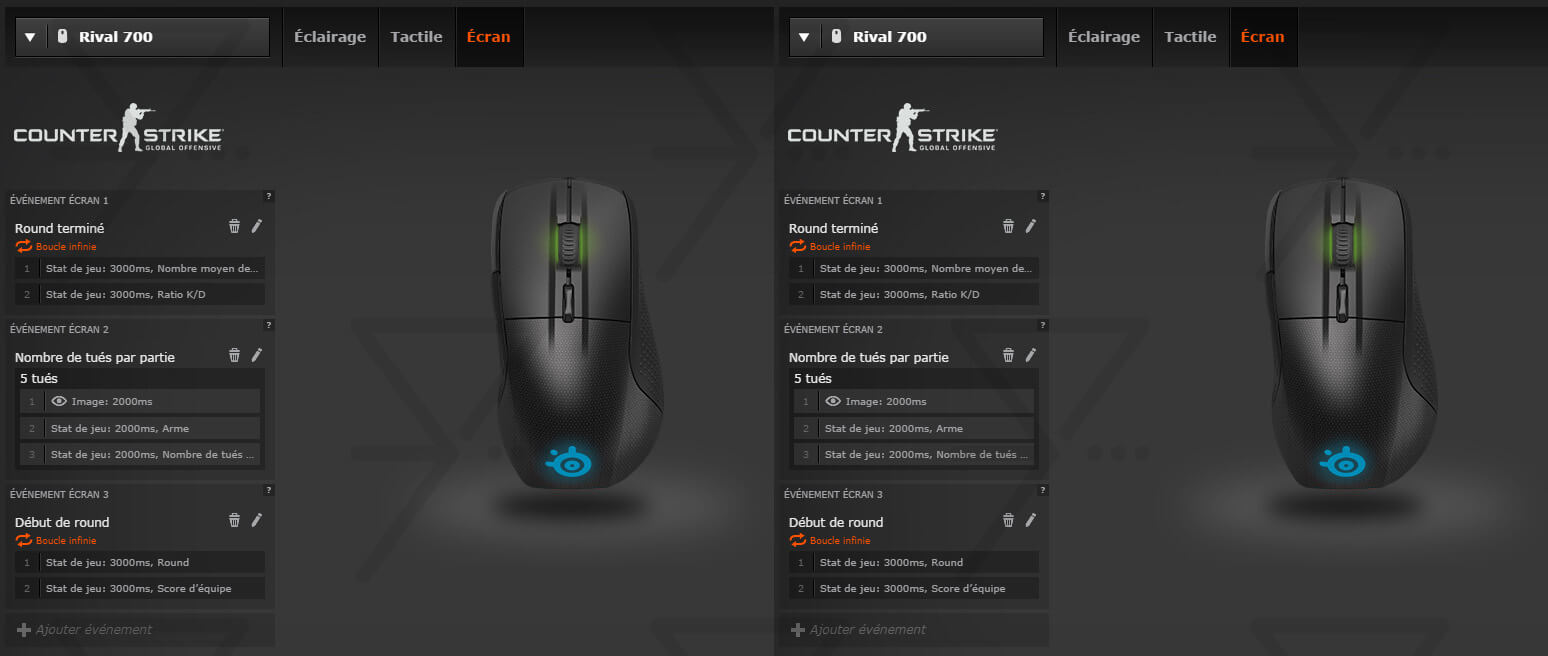 SteelSeries Rival 700 GameSense