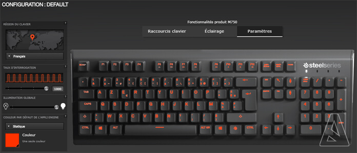 Engine - SteelSeries Apex M750