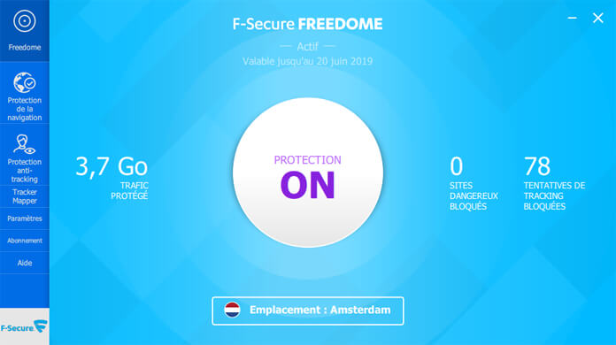 Inline - F-Secure TOTAL - Interface Freedome 1