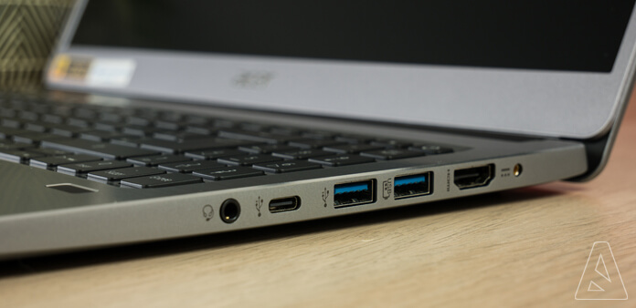 Inline - Connectique USB type C - Acer Swift 3