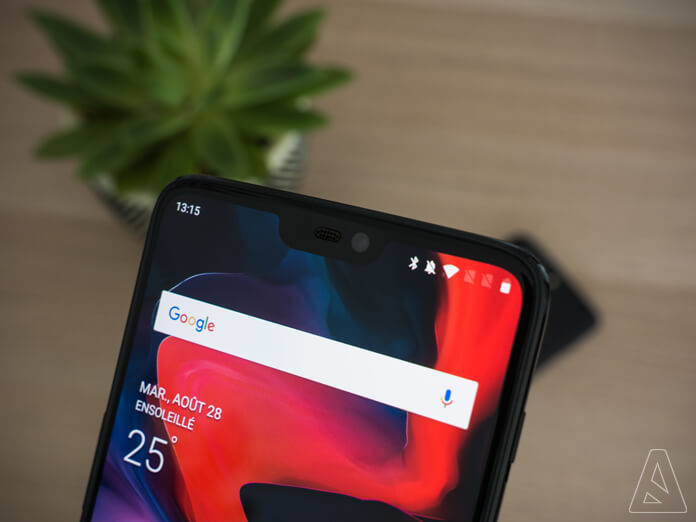 Inline - OnePlus 6 - Notch