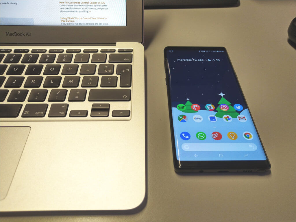 Je quitte iOS pour Android I Samsung Note 9 I Tech Area