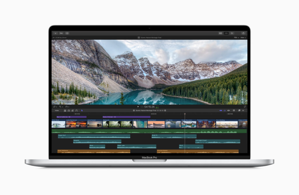 Performances MacBook Pro 16 Pouces